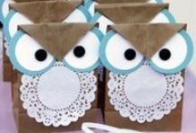 Owl Party Ideas / Great ideas for party cakes, decorations, printables,  food and more!