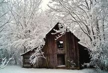 Old Barns and Country life! / country life
