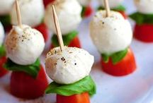 #APPETIZERS LOVE / antipasti, finger foods, small bites, tapas, party foods...