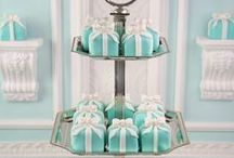 Tiffany Party Ideas / Great ideas for Tiffany party cakes, decorations, printables,  food and more!