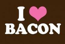 #BACON LOVE / Bacon rules the breakfast world...a breakfast without bacon is like a day without sunshine!