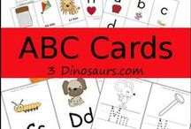 ABC Printables Group Board / Collection of free or selling abc printables. Please post only from your own site. If your product is for sale put $ in it. email me to request being added. State why you want to be added an example of your pins. hardingcl (@) yahoo .com / by Cassie Osborne (3Dinosaurs.com)