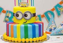 Minion (Despicable Me) Party Ideas / Great ideas for Minion party cakes, decorations, printables,  food and more!