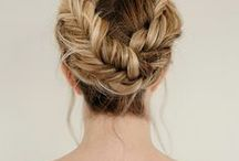 Wedding Hair | 2018 Up Do's / Beautiful ways to wear your hair, mostly my favourite undone up styles