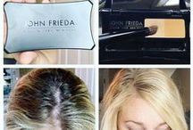 John Frieda #Rootblur / A temporary colour blending concealer for hair colour regrowth and gray hair.