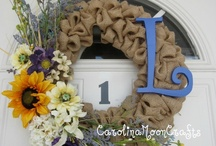 For Your Door / Wreaths and Door Decor / by Cary Carver Lum
