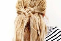 Hair ideas. / by Heather Goober