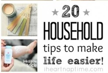 Randomly Handy Tips and Tricks / Cleaning tips, household tricks and other erratic things around the house / by Leslie Spence