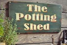 Garden~Potting Sheds