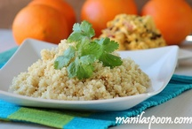 Quinoa Recipes / Quinoa is the new healthy staple. It's healthy for you as well as tastes great!