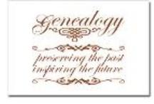 Genealogy / Genealogists, Always Digging Up the Past!