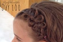 100 Days of Hair {Years ONE & TWO}