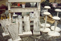 ♥♥JEWELLERY DISPLAYS♥♥ / MANY DIFFERENT IDEAS TO DISPLAY JEWELLERY AT SHOWS AND IN STUDIO / by Patricia St. T. Lees