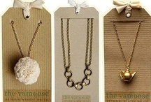 ♥♥JEWELLERY PACKAGING & CARDING♥♥ / by Patricia St. T. Lees