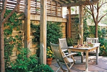 Garden Retreats / Inspirational pictures for the green fingered and thumbed!