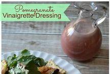 Salad Dressings  / Homemade Salad Dressings