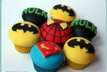 Marvel Superhero parties / Marvel DC Comics party decor and Ideas
