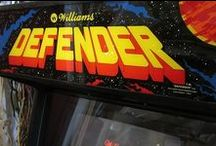 Arcade Marquees / A collection of our favorite arcade machine marquees.