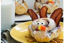 Thanksgiving / Thanksgiving food, craft, decoration ideas and more...