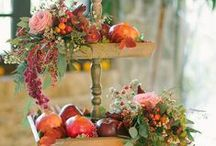 Autumn floral decoration, flower arrangements / This board is about flowers, floral decorations inspired by the autumn.
