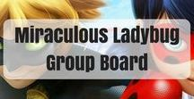 Miraculous Ladybug Group Board / Group Board for any Miraculous Ladybug fans such as Things about Thomas Astruc, writing prompts and other random stuff for Miraculous Ladybug. If you want to be added, send me your email in a message or comment on one of my pins. Make sure you're following me so I can add you!