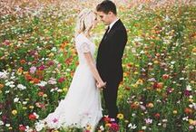 my wedding / beautiful and pure in a long white dress. you promised FOREVER. / by Megan Kishpaugh