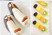 Snack Time / Simple yummy snacks for littles and bigs!