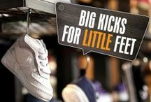 #BIGKICKSLITTLEFEET - Kids Trainers / by Footasylum