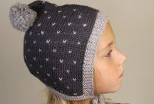 Miou Kids Bonnets / Knitted or crocheted bonnets for babies and toddlers. www.mioukids.com