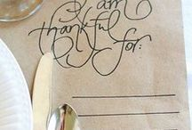 Fall/Thanksgiving / food, decor, and nail art