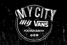 FOOTASYLUM x My City My Vans / Footasylum and Vans teamed up for the ultimate collectable kicks competition, using the world's greatest skater sneak as the canvas for a city takeover. Here are the highlights.