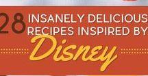 Disney Recipes / Disney Inspired Recipes or Park Favorites