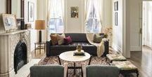 Brooklyn Townhouse by Elizabeth Bolognino Interiors / Brooklyn Townhouse by Elizabeth Bolognino Interiors// #InteriorDesign > #Moderndesign > #NYC > #Brooklyn > #sophisticated > #Residential  > #highend  >  #layeredminimalism > #ElizabethBolognino   http://www.houzz.com/ideabooks/69576939/list/room-of-the-day-a-double-parlor-hits-all-the-right-notes