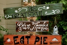 Thanksgiving ideas / by Angie Southworth