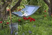 Outdoor Living / Outdoor living - enjoying the gardens, & outdoor spaces / by A Storybook Life
