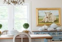 Dining Room Decor / Dining Room Decoarting Inspirations - http://www.aStorybookLife.com - Creative Ideas For Living  / by A Storybook Life