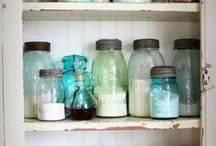 Pantry Goodness / Kitchen Pantry Inspirations - http://www.aStorybookLife.com - Creative Ideas For Living  / by A Storybook Life