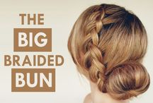 Inspiring Wedding Hair Tutorials / Creative ideas & hair Tutorials for creating bridal hair styles.