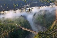 Waterfalls in Africa / Waterfaslls, springs in Africa