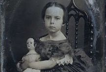 Izannah Walker & Other Antique Dolls / Izannah Frankford Walker lived in the nineteenth century, operating a cottage industry making pressed cloth dolls in a time when most women couldn't own property or vote.  She first patented her dollmaking process in 1873, but she may have been making dolls as early as 1840.
