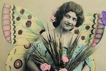 Vintage Fairy Wings & Butterflys
