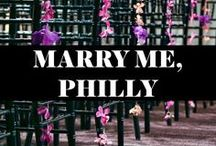 Wedding Concepts, Philly Style / Unique wedding ideas with a Philadelphia twist!
