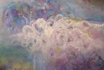 My Paintings / Abstract art by Julia Rogers Hamrick