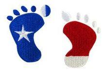Patriotic Embroidery Designs