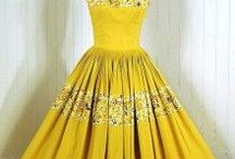 Vintage Retro Pretty / retro party dresses