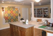 Quilt : Studio Heaven / Space for working on quilts and other projects / by Donna Alsobrook