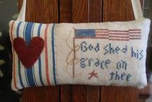 The Red, White, & Blue / by Faye Tipton