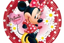 Minnie Mouse Party Ideas / Polka Dot or pink Minnie Mouse party ideas