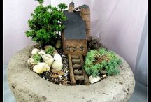 MinIaTuRe GaRdEnS / potted bonsai/fairy gardens and mystical outdoor spaces  / by Lynn McAlexander