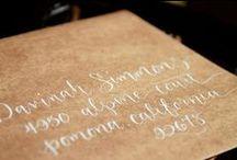 Calligraphy | Addressing / by Jennifer